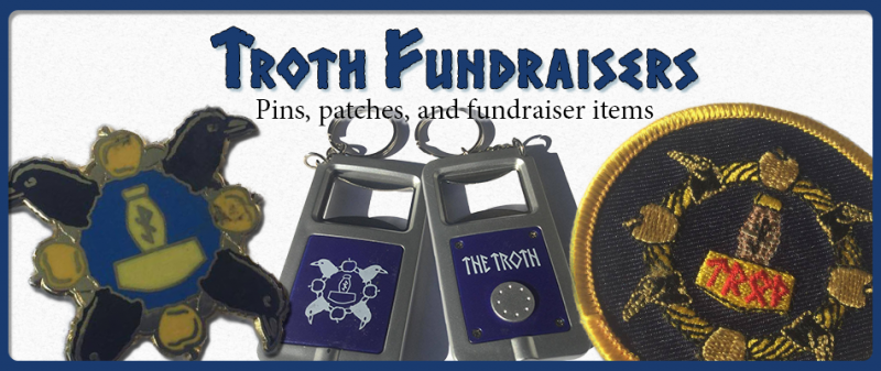 Troth Fundraiser Merchandise