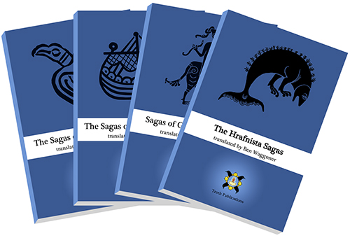 The Sagas of Ragnar Lodbrok, The Sagas of Fridthjof the Bold, Sagas of Giants and Heroes